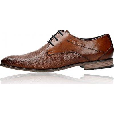 Bugatti pánské kožené společenské boty hnědé