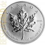 Maple Leaf Palladiová mince 1 Oz