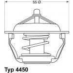 WAHLER Termostat WH 4450.83D