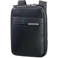 Samsonite pánská kožená taška přes rameno 7 9 Formalite LTH 61N-001 černá ef79b8ba62