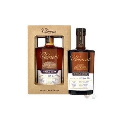 """Clément agricole tres vieux """" Single Cask Canne bleue """" 2016 Martinique rum 41.6% vol. 0.50 l"""