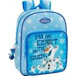 CurePink batoh Frozen Olaf 14,5l modrý