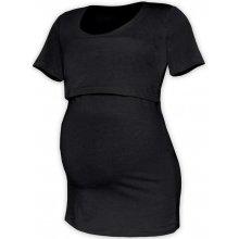 Jožánek tričko pro snadné kojení Kateřina krátký rukáv černá