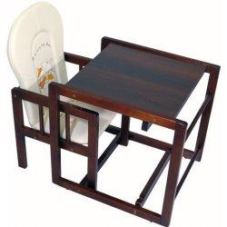 Tomi Jídelní židlička Konrád IV - ořech