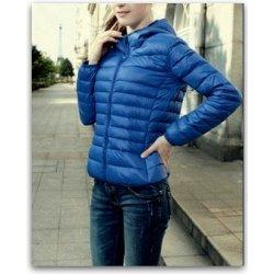 Lehká prošívaná bunda dámská delší 881729602 3 modrá alternativy ... 2a798945aa7