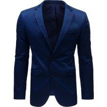 Basic elegantní sako Mx0385 modrá