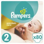 Pampers 2 Premium Care 80 ks