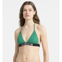 Calvin Klein Plavky Fixed Triangle vrchní díl zelená 191309d938