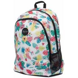 6be1bfe9435 Školní batoh Rip Curl Tašky Aktovky na kolečkách WH Proschool Flora Bílá