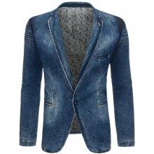 Pánské džínové sako Mx0282 modrá