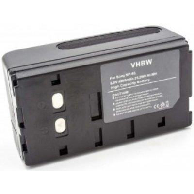 Kompatibilní baterie pro Nicon, Sony, Panasonic, JVC, Pentax, Samsung 4200 mAh Ni-MH VH500266700