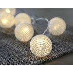 Star Trading Světelný lampionový řetěz Spiral