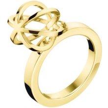 Calvin Klein prsten z chirurgické oceli Snow KJ4XJR1002 5ba4f0aa37