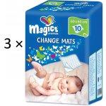 Magics Dětské přebalovací podložky 3x10 ks