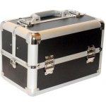 Hairway Kadeřnický kufr s přihrádkami černý 28561