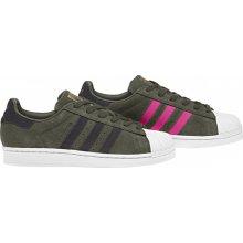 Adidas Originals SUPERSTAR W Zelená   Šedá   Růžová 9483f983a0