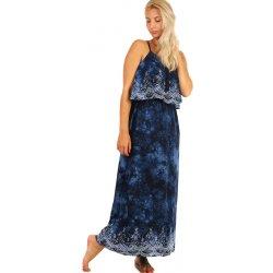 Dlouhé batikované maxi šaty 237674 tmavě modrá od 561 Kč - Heureka.cz 98dc050467