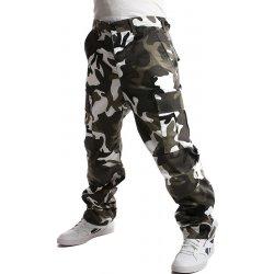 5c911da25f6 Pánské džíny TopMode pánské maskáčové kalhoty bílá