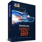 Bitdefender Family Pack 1 rok (VL11151000-EN)