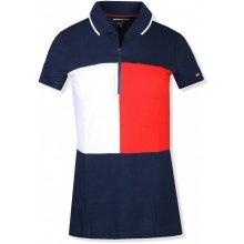 Tommy Hilfiger sport dámské polo tričko zip 791475 3366f6c16c