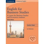 English for Business Studies - Teacher Book - Third Edition - Ian Mackenzie