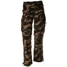 pánské kalhoty loshan ignacio vzor woodland