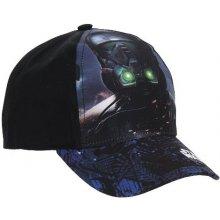41dd20ddd83 SUN CITY Dětská kšiltovka Star Wars Black Stormtrooper černá bavlna
