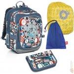 Topgal Sada pro školáka CHI 791 Q SET LARGE (batoh,pouzdro,pláštěnka,sáček na cvičky)