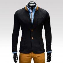Ombre Clothing sako Jacques černá