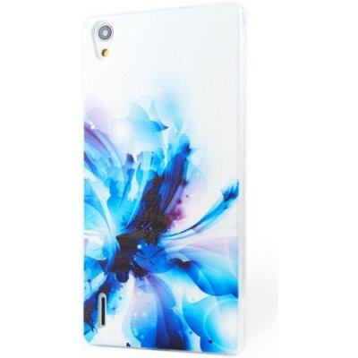 Pouzdro iSaprio Abstract Flower Huawei Ascend P7