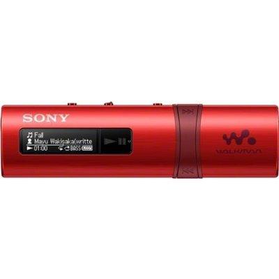 Sony Walkman NWZ-B183, červený ; NWZB183R.CEW