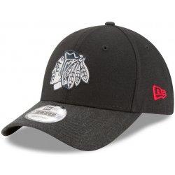 new concept 31ac7 bb7d0 Kšíltovka Chicago Blackhawks League 2 9FORTY Black Heathered Black New Era