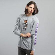 Cayler & Sons WL Purple Swag Longsleeve melange šedé