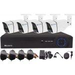 Kamerový set Securia Pro AHD4CHV2, 4x Full HD kamery, XVR