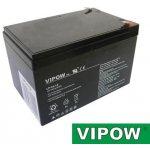 VIPOW Baterie olověná 12V/14Ah bezúdržbový akumulátor