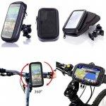 Univerzální voděodolnýdržák na mobil na kolo nebo motorku