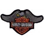 Nášivka a nažehlovačka Harley Davidson