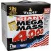 Weider Giant Mega Mass 4000 7000 g, jahoda
