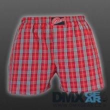 STYX UNDERWEAR pánské volné červené kostkované trenýrky Classic A524 4944c79714