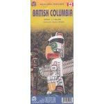 Britská Kolumbie cestovní mapa 1:250 T