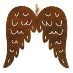 Dekorační andělská křídla L hnědá - Decostar