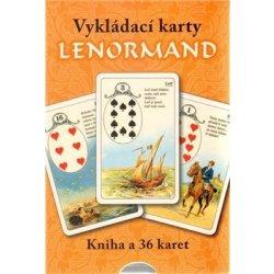 Vykládací karty Lenormand (kniha+karty) (Erna D.von Enge)
