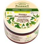Green Pharmacy Face Care Green Tea matující krém pro smíšenou a mastnou pleť (0% Parabens) 150 ml