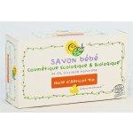 CigaleBio Hypoalergenní mýdlo pro miminko s meruňkovým olejem 100 g