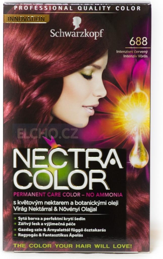 schwarzkopf nectra color 688 intenzivn erven barva na vlasy alternativy heurekacz - Nectra Color Schwarzkopf