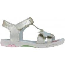 908147110dd Primigi Dívčí sandály s hvězdou - stříbrno-zlaté