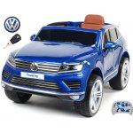 Beneo elektrické auto Volkswagen Touareg s 2.4G DO EVA kola modrá metalíza