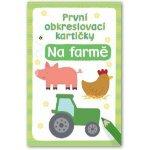 První obkreslovací kartičky Na farmě
