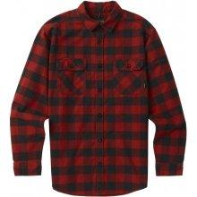 Burton Košile Brighton Flanel - červená e34287cc81