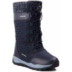 Dětská bota Geox Zimní boty Dětské J ORIZONT B GIRL ABX černá 8a18b4b9bc